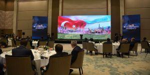 'Celaleddin Harezmşah' dizisinin galası Özbekistan'da yapıldı