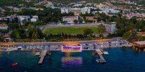 Foça Jandarma Komando Okulu'ndan Azerbaycan'a destek