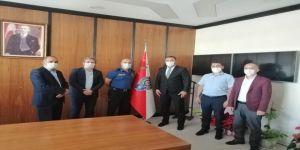 Saadet Partisi Çayırova'dan Aldemir'e tebrik ziyareti