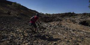 'Lav yolu' salgın sürecinde bisiklet ve doğa tutkunları için izole rota oldu