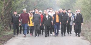 Gebze'de Sağlıklı Yaşam Yürüyüşleri Başladı