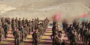 terör örgütü PKK'nın Sincar'daki kamplarını görüntüledi
