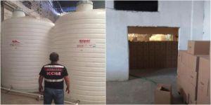 İzmir'de jandarma ekipleri sahte içki üretenlere göz açtırmıyor