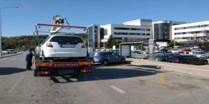 Hatalı parklanma yapan araçlara ceza