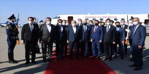 TBMM Başkanı Şentop: Azerbaycan bayrağının ilelebet dalgalanması için daima temenni ve duada bulunuyoruz