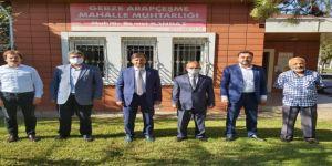 Saadet Partisi Gebze Muhtarları Ziyaret Etti