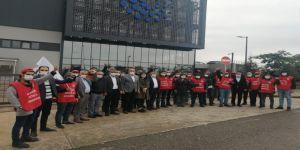 CHP Gebze'den,ücretsiz izin uygulamasıyla karşılaşan işçilere destek