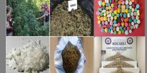 Kocaeli'de Uyuşturucu Operasyonlarında :23 tutuklama!