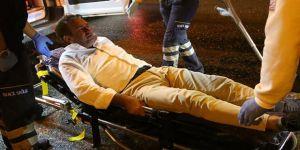 Çaykur Rizespor eski yöneticisi Kocaeli'de Kaza  gecirdi