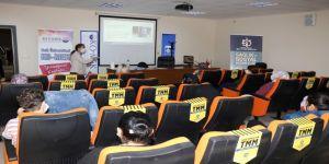 KO-MEK Çocuk Oyun Odası personeline Koronavirüs eğitimi