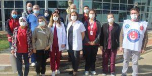 SB sağlıkçıların aile huzurunu kaçırdı