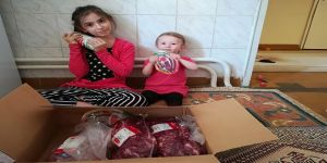 LÖSEV,Kocaeli'de ki ailelere et yardımı sağlıyor