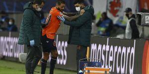Medipol Başakşehirli futbolcu Junior Caiçara ameliyat edildi