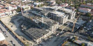 Erzincan'ın 'akıllı hastanesi'nin inşaatı yükseliyor