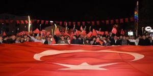 29 Ekim Cumhuriyet Bayramı münasebetiyle fener alayı