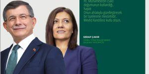 Serap Çakır,Mevlid Kandili dolayısıyla mesaj yayınladı