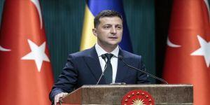 Ukrayna Devlet Başkanı Zelenskiy'den 29 Ekim Cumhuriyet Bayramı tebriği