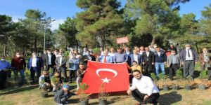 Çayırova'da 'Erbakan Hatıra Ormanı' Açıldı