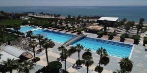 Açık otellerde sonbahar yüzde 44,9 dolulukla başladı