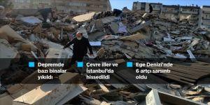 AFAD, 6 kişinin hayatını kaybettiğini açıkladı.