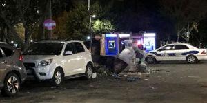 Ataşehir'de çöp konteynerinde patlama