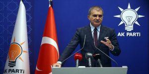 AK Parti Sözcüsü Çelik: CHP Sözcüsünün çirkin yalanını şiddetle kınıyoruz