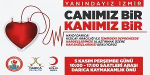 Darıca'dan İzmir için kan bağışı kampanyası