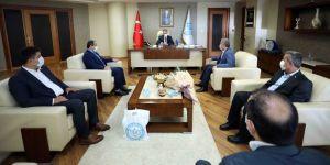 Başkan Büyükakın, BEMBİRSEN yönetimini konuk etti