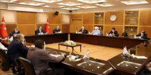 Dışişleri Bakan Yardımcısı Kıran, Libyalı temsilcilerle görüştü