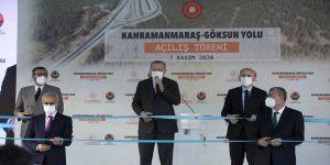 Cumhurbaşkanı Erdoğan: Kahramanmaraş-Göksun arasındaki yolun adını 'Edebiyat Yolu' olarak belirledik