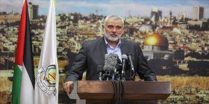 Hamas lideri Heniyye'den Biden'e Yüzyılın Anlaşması'ndan vazgeçme çağrısı