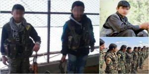 Terör örgütü YPG/PKK, zorla silahaltına almak için çocukları kaçırmaya devam ediyor