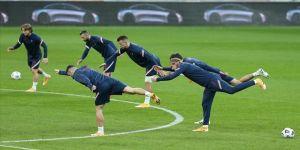 A Milli Futbol Takımı, Rusya maçı hazırlıklarını sürdürdü