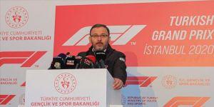 Bakan Kasapoğlu: Formula 1, İstanbul için yarım kalmış hikayenin yeniden başlaması