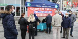 Belediye'den vatandaşlara 'HES Kodu' yardımı