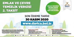 Darıca Belediyesi'nden Emlak vergisi uyarısı