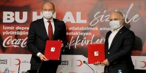 Türk Kızılay Coca Cola'nın 3,5 milyon liralık yardımını depremzedelere ulaştıracak