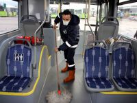 Toplu taşıma araçlarında bakım titizliği