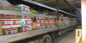 Toplanan yardımlar son yardım tırı ile Kocaeli AFAD'dan uğurlandı