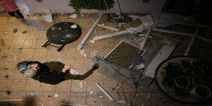 Kocaeli'de bir bina da sıkışan doğalgaz bomba gibi patladı