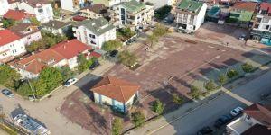 İstasyon Mahallesi'nde 5 noktada yapılan otoparklar hizmete açıldı