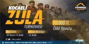 Kocaeli'de toplam 10 bin TL para ödülüllü turnuva başlıyor
