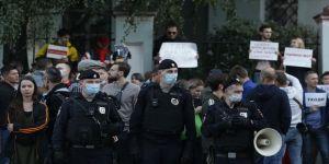 Belarus'ta protesto eylemlerinde 250'ye yakın kişi gözaltına alındı