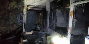 Kocaeli'de balkonda yakılan mangal yangın çıkardı