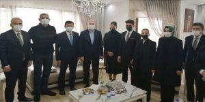 İçişleri Bakanı Süleyman Soylu, Muğla'da taziye ziyaretinde bulundu