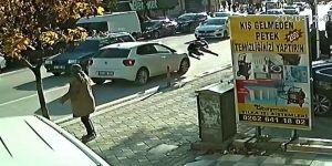 Gebze'de otomobil, koşarak karşıya geçmek isteyen kadına çarptı