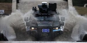 Jandarmanın zırhlı araç sürücü adaylarına Bilecik'te zorlu eğitim