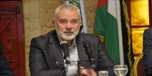 Hamas: İsrail'le yeniden güvenlik iş birliğine başlanması uzlaşı önünde büyük bir engel