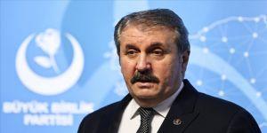BBP Genel Başkanı Destici: Türkiye, yaptırım uygulayan ülkelere karşı askeri üsleri koz olarak ileri sürebilir