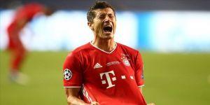 Bayern Münih, sahasında Wolfsburg'u Robert Lewandowski'nin golleriyle 2-1 yendi